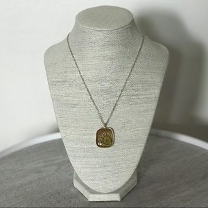 Jewelry - Amber Flower Necklace